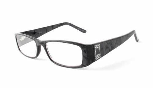 Calabria 852 Reading Glasses in Granite :: Rx Bi-Focal