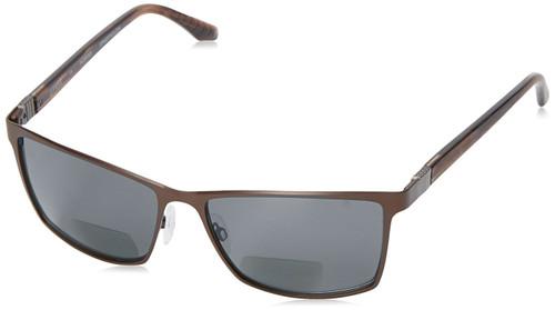 Spine Optics Polarized Bi-Focal Reading Sunglasses SP8001-176 in Brown