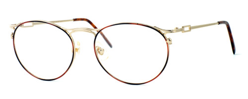 Regency International Designer Reading Glasses New York in Amber 51mm