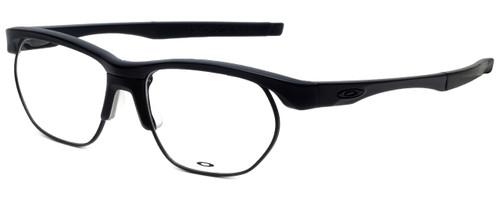 Oakley Designer Eyeglasses Crosslink-Float OX3221-0156 in Satin-Black 56mm :: Progressive