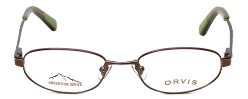 Orvis Designer Eyeglasses Compass in Brown 49mm :: Custom Left & Right Lens