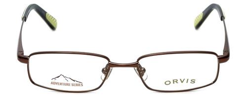 Orvis Designer Eyeglasses Flight in Brown-Green 50mm :: Custom Left & Right Lens