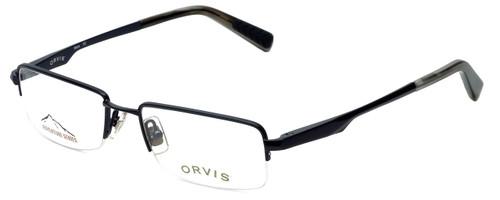 Orvis Designer Eyeglasses Hero in Navy 49mm :: Custom Left & Right Lens
