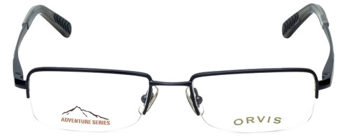 Orvis Designer Eyeglasses Hero in Navy 49mm :: Custom Left & Right Lens