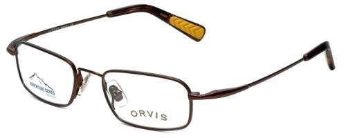 Orvis Designer Eyeglasses Journey in Brown 46mm :: Custom Left & Right Lens
