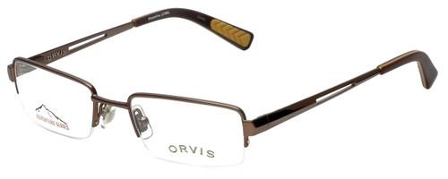 Orvis Designer Eyeglasses Streamline in Light-Brown 47mm :: Custom Left & Right Lens