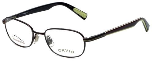 Orvis Designer Eyeglasses Target in Brown-Green 48mm :: Custom Left & Right Lens