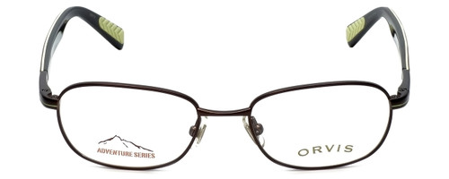 Orvis Designer Eyeglasses Target in Brown-Green 48mm :: Custom Left & Right Lens