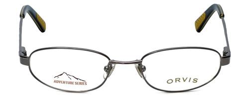 Orvis Designer Eyeglasses Compass in Gunmetal 49mm :: Rx Single Vision