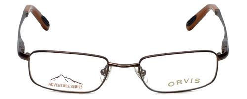 Orvis Designer Eyeglasses Crossing in Brown 47mm :: Rx Single Vision