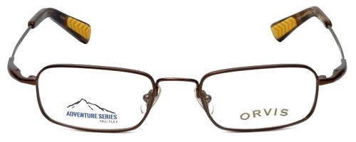 Orvis Designer Eyeglasses Journey in Brown 46mm :: Rx Single Vision