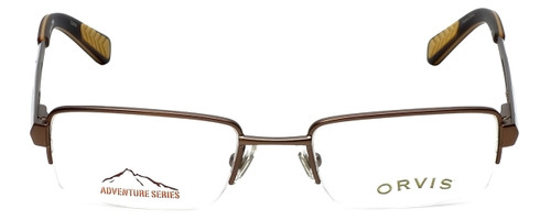 Orvis Designer Eyeglasses Streamline in Light-Brown 47mm :: Progressive