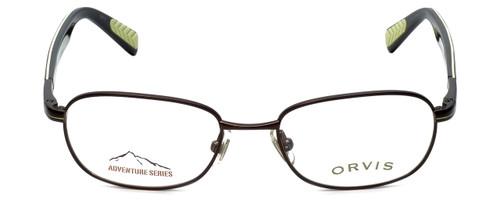 Orvis Designer Eyeglasses Target in Brown-Green 48mm :: Progressive