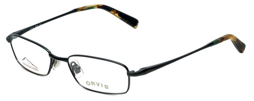 Orvis Designer Eyeglasses Bold in Dark-Green 51mm :: Rx Bi-Focal