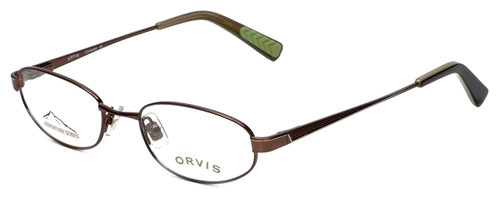 Orvis Designer Eyeglasses Compass in Brown 49mm :: Rx Bi-Focal