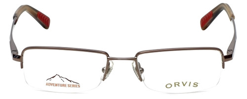 Orvis Designer Eyeglasses Hero in Brown 49mm :: Rx Bi-Focal