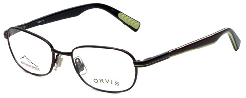 Orvis Designer Reading Glasses Target in Brown-Green 48mm