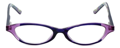 Vera Bradley Designer Eyeglasses Suzanne-HTR in Heather 49mm :: Custom Left & Right Lens