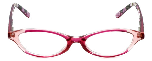 Vera Bradley Designer Eyeglasses Suzanne-OPK in Olivia-Pink 49mm :: Custom Left & Right Lens