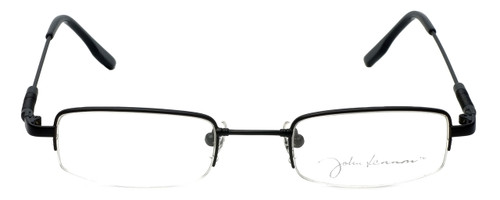 John Lennon Designer Eyeglasses JLC104-Matte-Black in Matte-Black 45mm :: Custom Left & Right Lens