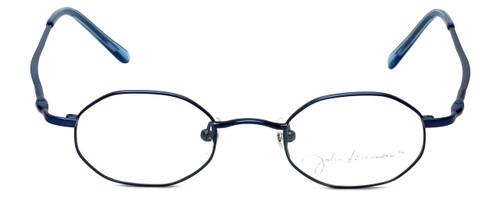 John Lennon Designer Eyeglasses JLC101-Blue in Blue 43mm :: Rx Bi-Focal