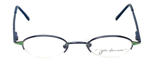 John Lennon Designer Reading Glasses JL249NF-056 (Small Fit) in Blue-Green 46mm