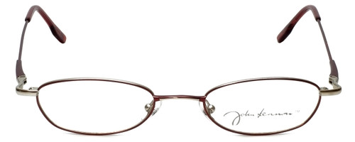 John Lennon Designer Reading Glasses JL254F-072 in Wine-Pewter 48mm