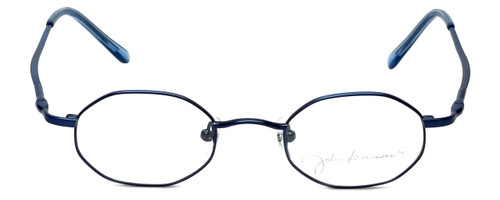 John Lennon Designer Reading Glasses JLC101-Blue in Blue 43mm