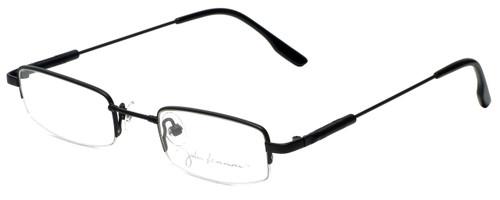John Lennon Designer Reading Glasses JLC104-Matte-Black in Matte-Black 45mm