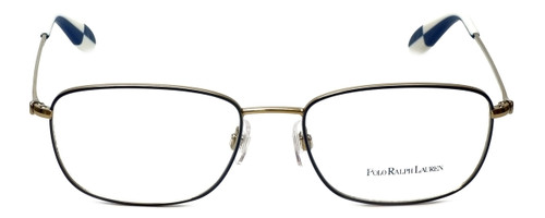 Polo Ralph Lauren Designer Eyeglasses PH1131-9116-55mm in Gold/Blue 55mm :: Custom Left & Right Lens