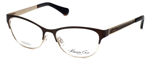 Kenneth Cole Designer Reading Glasses KC0226-047 in Brown-Gold