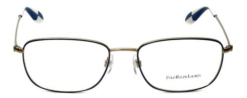 Polo Ralph Lauren Designer Reading Glasses PH1131-9116-53mm in Gold/Blue 53mm