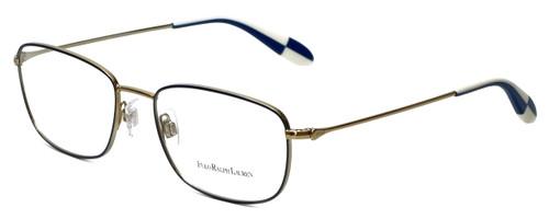 Polo Ralph Lauren Designer Reading Glasses PH1131-9116-55mm in Gold/Blue 55mm