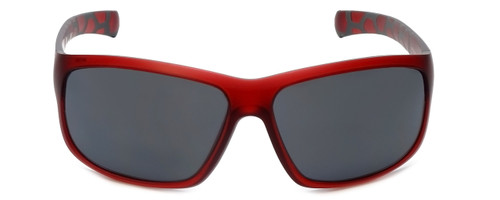 Porsche Designer Sunglasses P8538-C in Red with Grey Lens