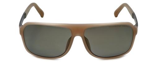 Porsche Designer Sunglasses P8554-B in Beige with Grey Lens
