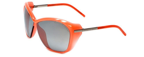 Porsche Designer Sunglasses P8603-A in Coral with Grey Silver Mirror Lens
