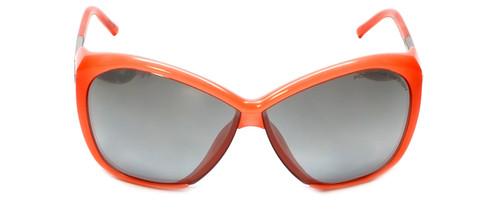 Porsche Designer Sunglasses P8603-A in Coral with Grey Silver Mirror Lens