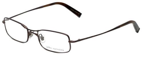 John Varvatos Designer Eyeglasses V105 in Brown 51mm :: Rx Single Vision