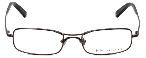 John Varvatos Designer Eyeglasses V105 in Brown 51mm :: Rx Single Vision