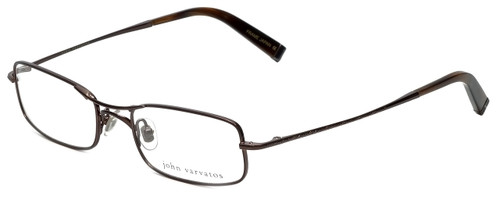 John Varvatos Designer Eyeglasses V105 in Brown 51mm :: Rx Bi-Focal