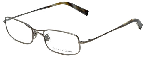 John Varvatos Designer Eyeglasses V105 in Pewter 51mm :: Rx Bi-Focal