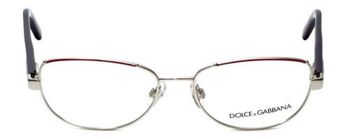 Dolce & Gabbana Designer Reading Glasses DG1181-279 in Silver  53mm