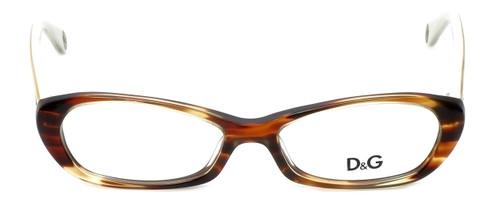 Dolce & Gabbana Designer Reading Glasses DG1192-1707 in Havana 51mm