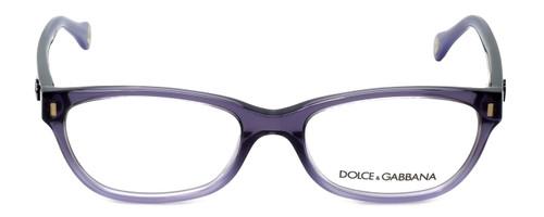 Dolce & Gabbana Designer Reading Glasses DD1205-1674 in Violet 52mm