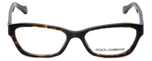Dolce & Gabbana Designer Reading Glasses DD1216-502 in Tortoise 52mm