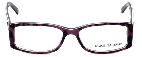 Dolce & Gabbana Designer Reading Glasses DG3076-1751 in Violet-Animal 53mm