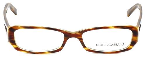 Dolce & Gabbana Designer Reading Glasses DG3085-928 in Havana-Yellow 51mm