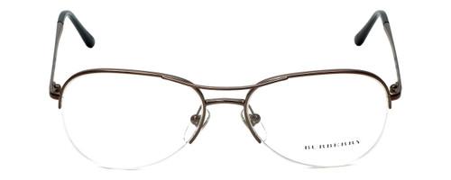 Burberry Designer Eyeglasses B1225-1143 in Bronzed Silver 53mm :: Custom Left & Right Lens