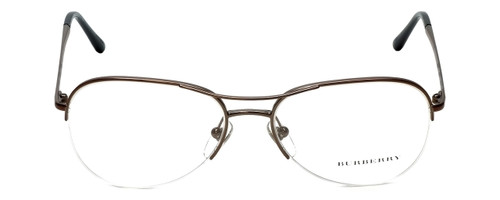 Burberry Designer Eyeglasses B1225-1143 in Bronzed Silver 53mm :: Rx Single Vision