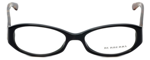 Burberry Designer Eyeglasses B2118-3329 in Black 50mm :: Rx Single Vision